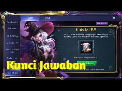 Kunci Jawaban Kuis Mobile Legends Guru Galeri