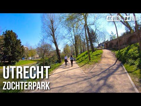 Zocherpark, Utrecht (🎧Binaural Audio) - 🇳🇱 Netherlands - 4K Virtual Tour