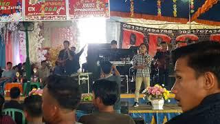 """Raffi Handika  Ngulak  Kontes dangdut di desa sereka bersama """"Om. PBSA MUSIK"""