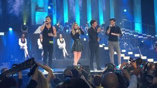 Download lagu Tony Carreira Tour 30 anos David Sara e Mickael Sonhos de menino Altice Arena 16 11 2018