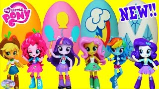 My Little Pony Equestria Girls Minis Dolls Play Doh Surprise Eggs Compilation Episode MLP Toys SETC