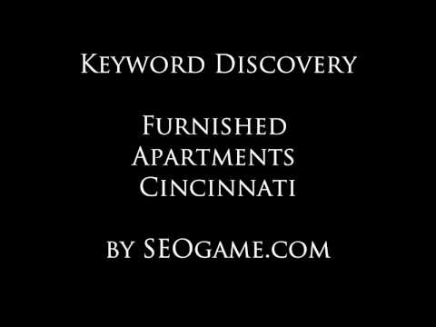 Discovery Report: Furnished Apartments Cincinnati SEO Keywords by SEOgame.com