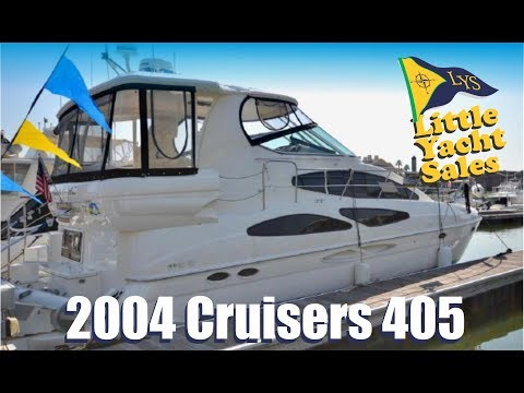 2004 Cruisers 405 Motor Yacht for sale at Little Yacht Sales, Kemah Texas
