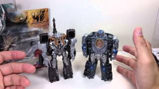 1 step strafe megatron prowl rollbar transformers age of extinction toy review