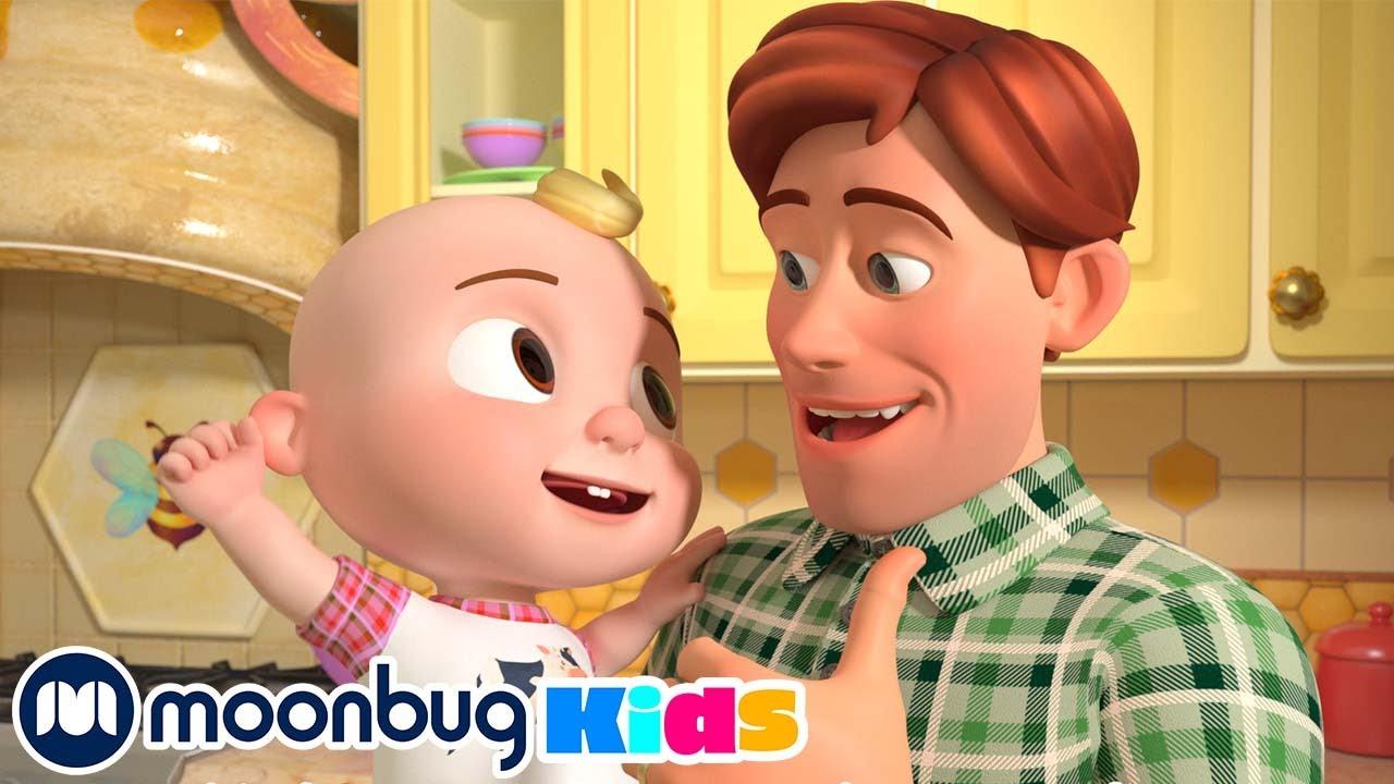 CoComelon en Español - Padre e Hijos   Canciones Infantiles   Moonbug en Español