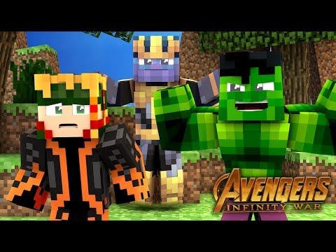 KILLING THANOS!   Infinity Craft Reborn   EP 2 (Minecraft Infinity War Roleplay RPG)