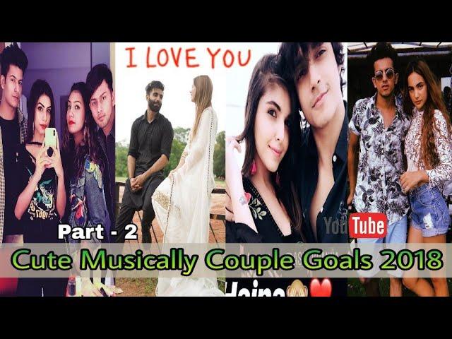 #Tiktok #couple #couplegoals | Cute Musically Couple Goals Compilation 2018 Part 2.