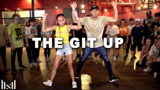 THE GIT UP - Blanco Brown Dance | Matt Steffanina ft Nicole Laeno