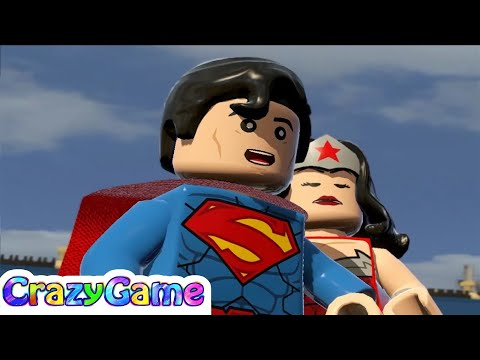 LEGO Batman 3 Episode 7 - Batman, Superman, Wonder Woman vs Brainiac