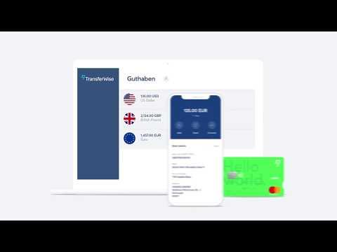 Das TransferWise Multi-Währungs-Konto - So funktioniert es