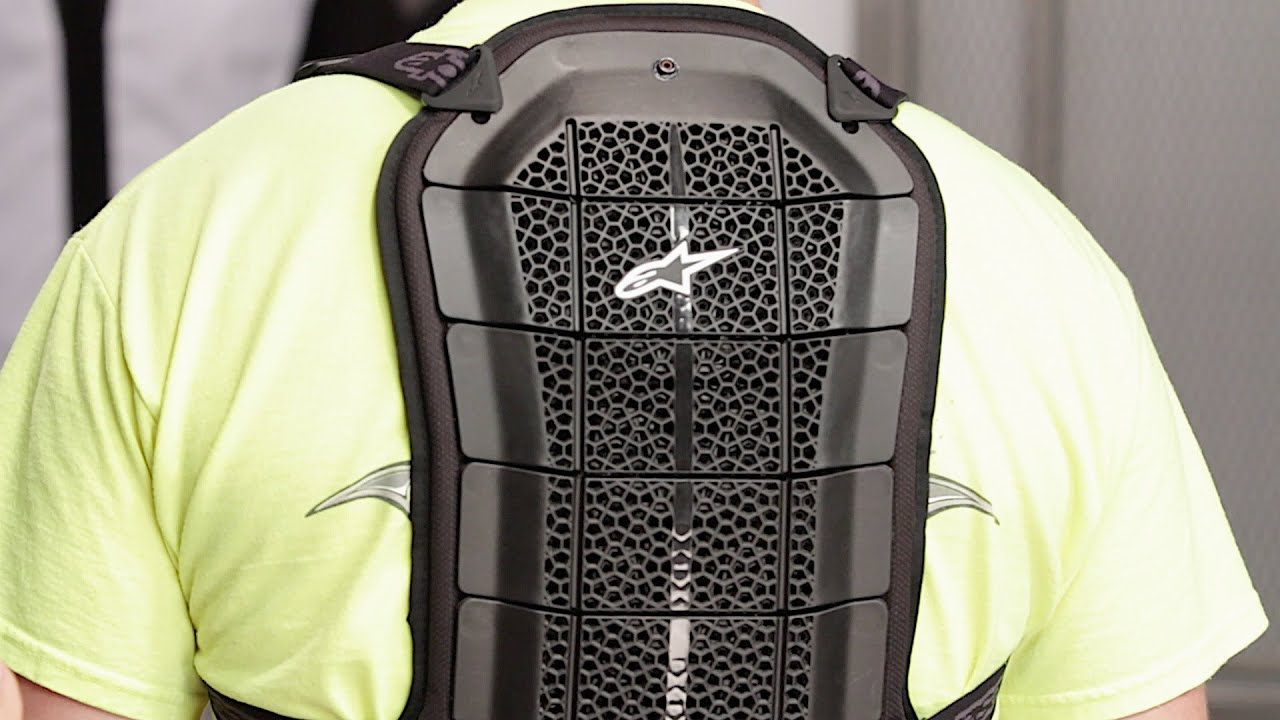 Alpinestar Bionic Air Back Protector Rayon Braquage