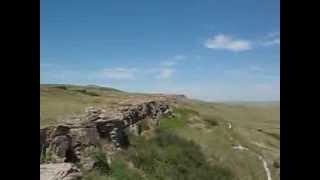 Head Smashed in Buffalo Jump view, Alberta