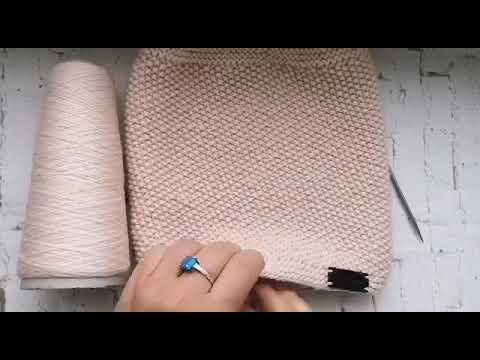 Как связать #снуд #спицами на #круговых #спицах МК/#Knitting/Детский снуд спицами