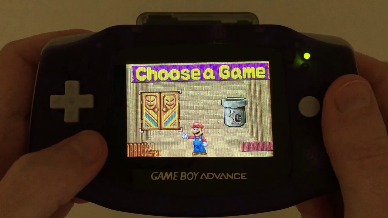 Game boy color everdrive - Demonstrating The Everdrive X5 On A Ags 101 Modded Gameboy Advance Console