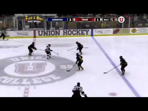 Union Men's Hockey Highlights vs. #1 Quinnipiac - 2/20 ...