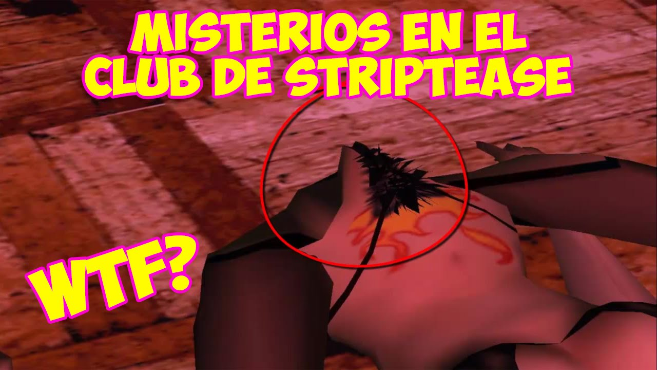 Retextured interior de los clubes de striptease para GTA