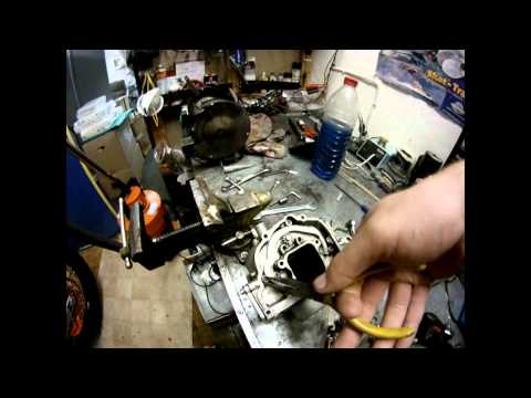 KTM 08 144 powervalve sticking open