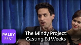 The Mindy Project - The Process Of Casting Ed Weeks As Jeremy Reed