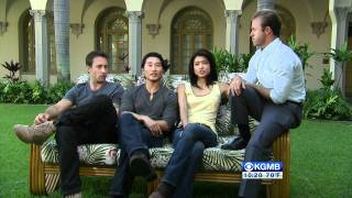 The Hawaii Five-0 Cast