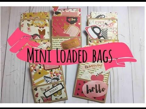 Mini Loaded Paper Bags | Pen Pal Idea!