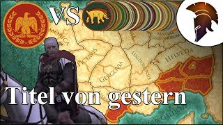 Total War Rome 2 | Titel von gestern | This is Caesar #026 | German