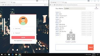 How To Create A Chat Box Using Ajax, php, Jquery, Html5 Developer   Live Chat