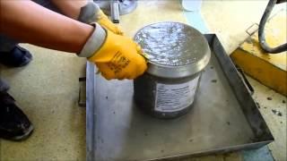 Taze Beton Hava İçeriği Deneyi  - Concrete Air Test