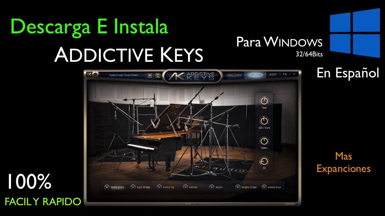 Addictive Keys XLN—Audio Descargar por Mega