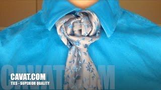 Cách thắt Cà vạt kiểu