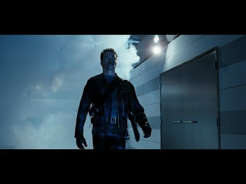 Terminator 2 I'll Be Back - Police Shootout Scene 4K Remastered