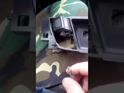 Ремонт внутренних ручек Faw V5