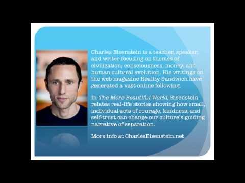 Charles Eisenstein Presents Free Webinar - The More Beautifu