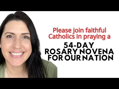 54 Day Rosary Novena for the 2020 election | Novena for Our Nation | CATHOLICS FOR TRUMP