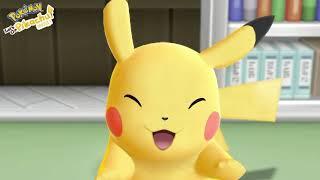 НАЧАЛО ПУТЕШЕСТВИЯ - LET'S GO PIKACHU #1 ( Покемоны на Нинтендо Свитч)