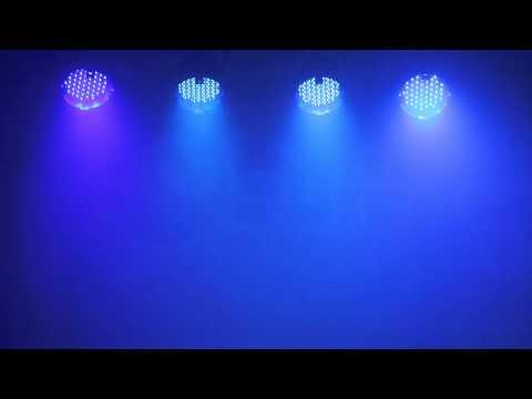 DMX Music Visualization Set for 4x LED PAR56 Lite