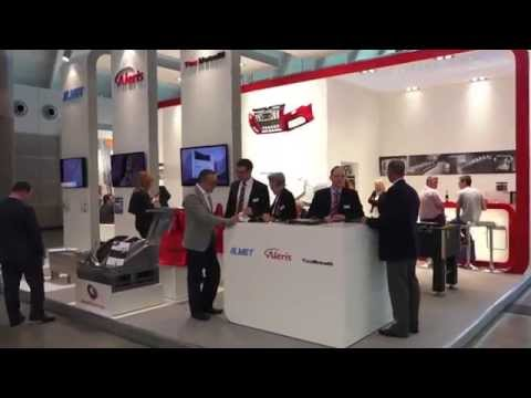 Video stand ALERIS MOULDING EXPO 2015 MESSE STUTTGART.