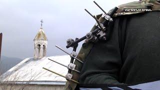 Ամարասի վանքը հայկական կողմում է և կանգուն․ վանքին դեմ-դիմաց ադրբեջանական ուժեր են