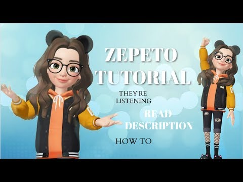 ZEPETO Tutorial ~ The Basics!