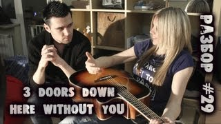 show MONICA Разбор #29 - 3 doors down -- Here without you