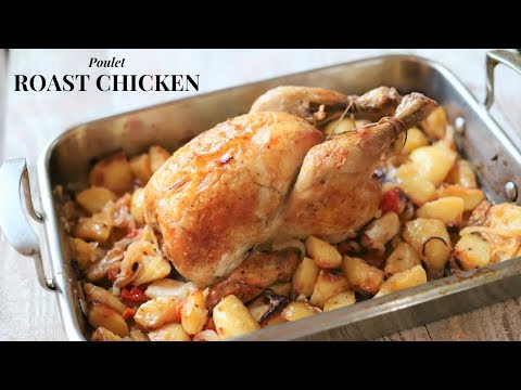 Family Home Style Roast Chicken ( Using The 3 Stages Roasting Method)