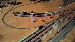 鉄道フェスタ2019inZホールNゲージ第6モジュールレイアウトE