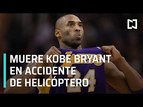 Muere Kobe Bryant en accidente aéreo - Las Noticias