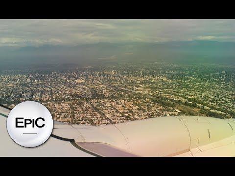 Aterrizaje En Mendoza - Argentina (HD)