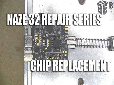 Naze 32 Repair Series - How to replace the STM32