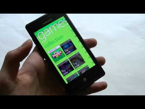 Dutch: Samsung Omnia 7 video preview