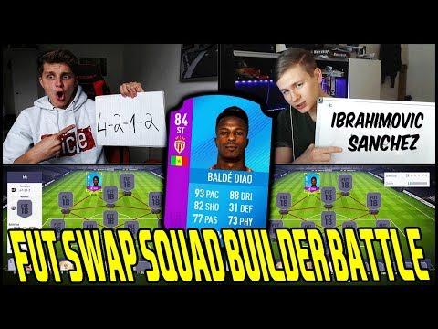 Rage FUT SWAP Keita Balde SQUAD BUILDER BATTLE vs RealFifa! 🔥🔥 Fifa 18 Ultimate Team