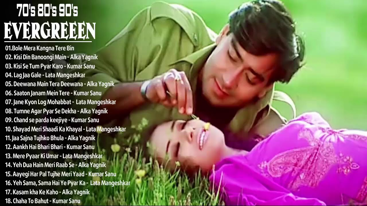 Download Old Hindi songs Unforgettable Golden Hits_Ever Romantic Songs /Alka Yagnik•Kumar Sanu•Udit Narayan