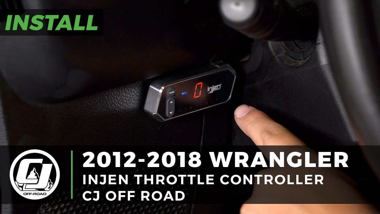 Jk Wrangler Improved Throttle Response Injen Controller X Pedal Pro 2017 2018