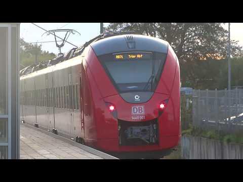 Abfahrt Des Neuen Alstom Coradia Continental 1440 001 Als RB 71 Richtung Trier In Kirkel