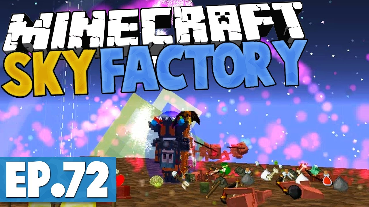 how to make a sky factory 2.5 server